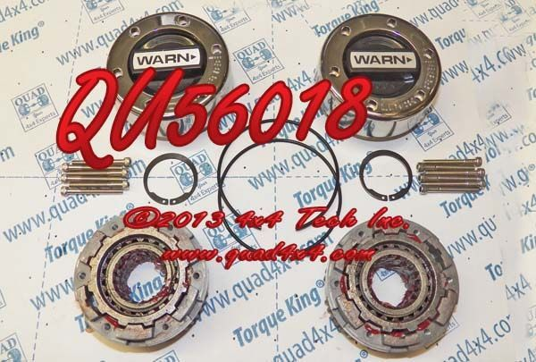 QU56018 WARN D44 MANUAL HUB SET