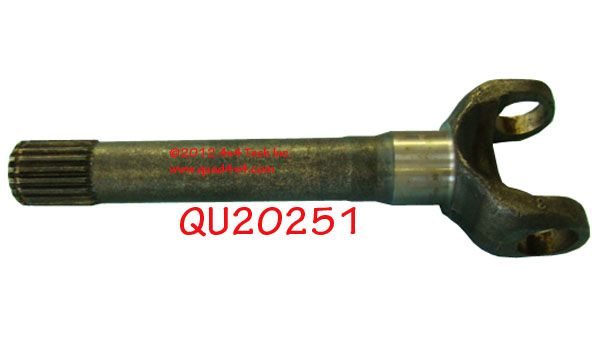 QU20251 67-75 OUTER AXLE SHAFT