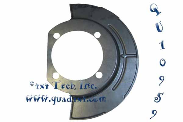 QU10959 FRONT BRAKE SHIELD in Brake and Steering Parts