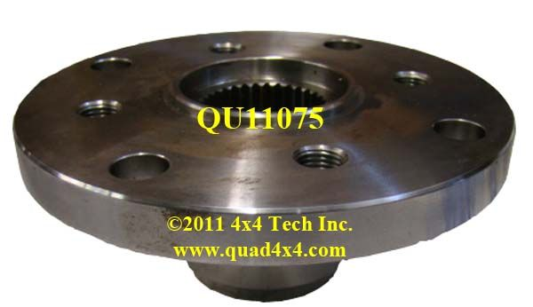 Qu t c flange yoke in np specific parts