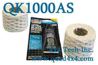 QK1000AS FILTER PACK & RTV