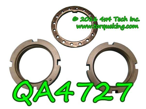 QA4727 SPINDLE NUT KIT