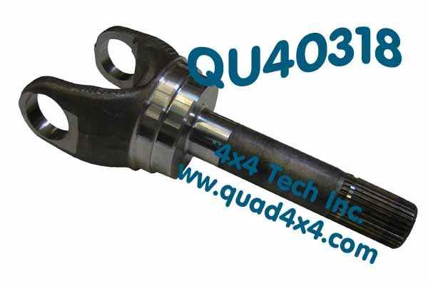 QU40318 99-05 OUTER AXLE SHAFT