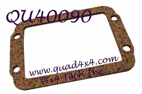 QU40090 CAD HOUSING GASKET
