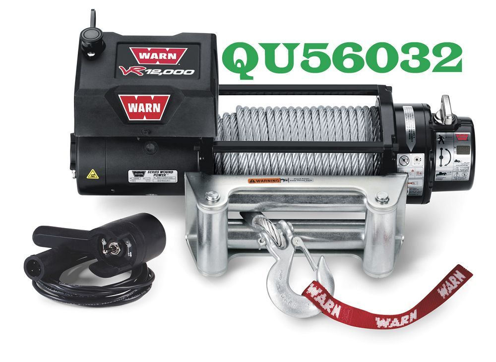 QU56032 12,000LB WARN WINCH