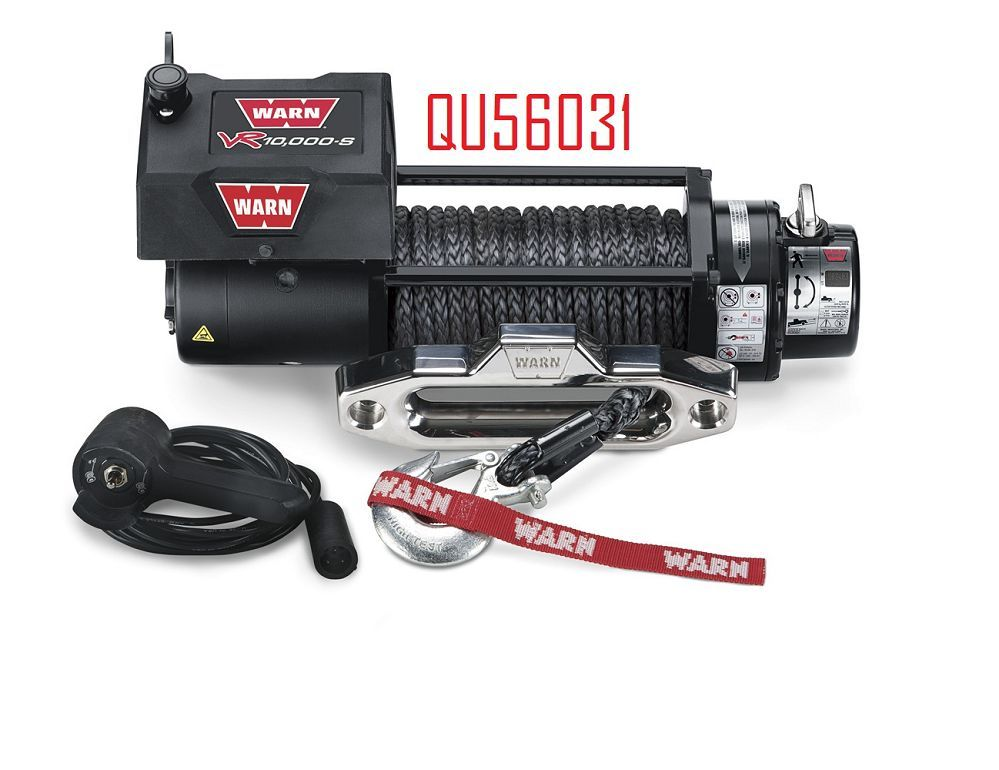 QU56031 10,000LB WARN WINCH SYN