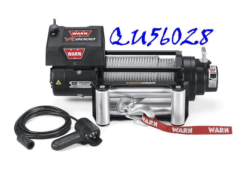 QU56028 VR8000 LB WARN WINCH