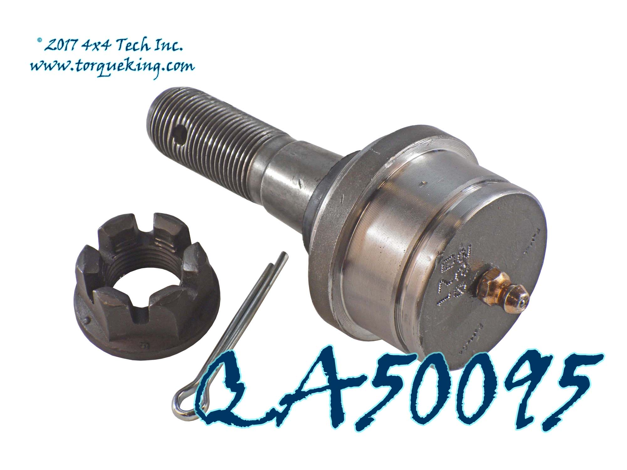 Qa50095 premium greaseable upper ball joint for all ford dana 44 ifs front axles