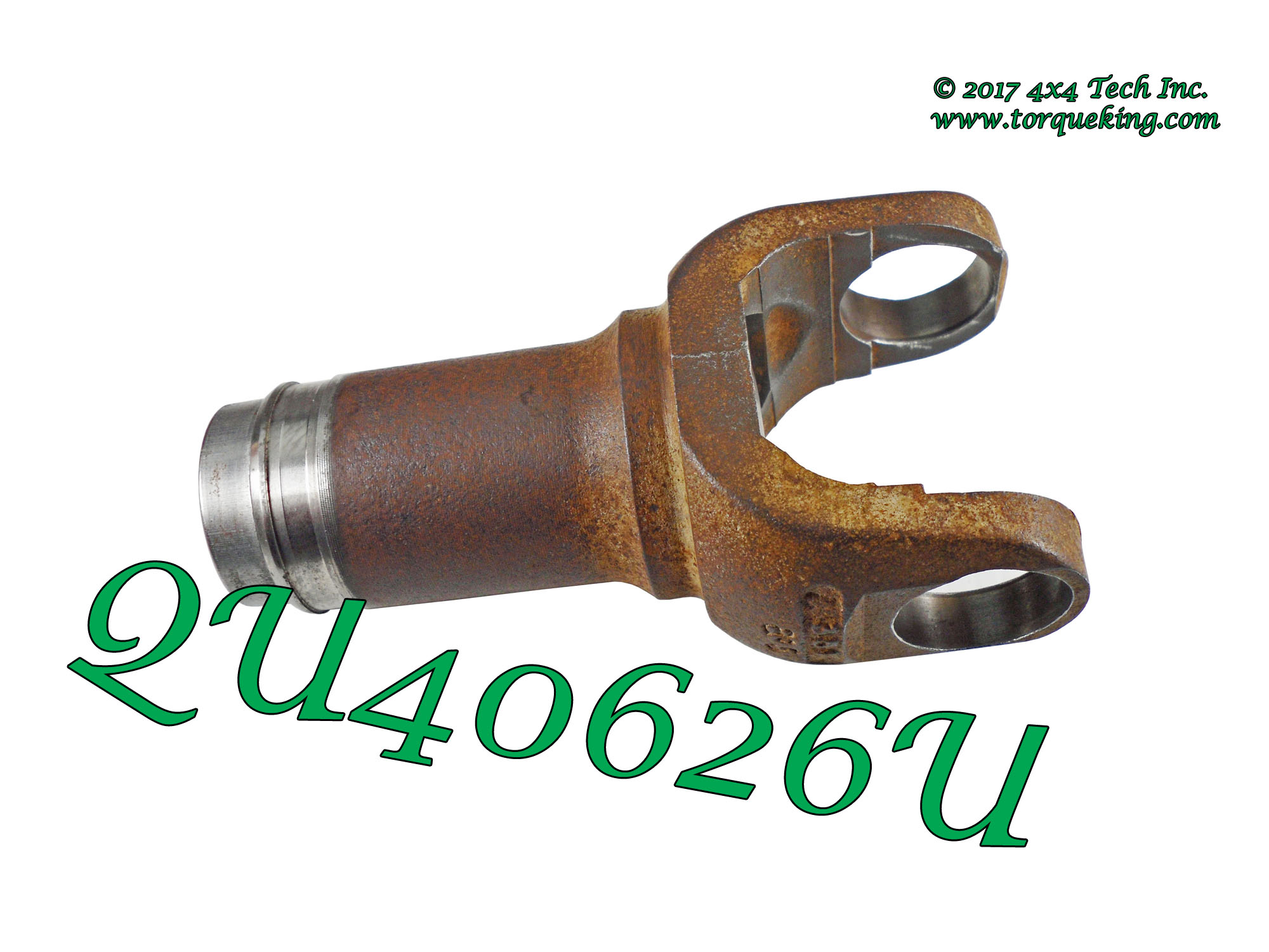 Qu40626 1982 5 1996 non greaseable ford dana 44ifs right axle shaft slip yoke is a genuine dana original equipment replacement splined slip yoke for 1982 to