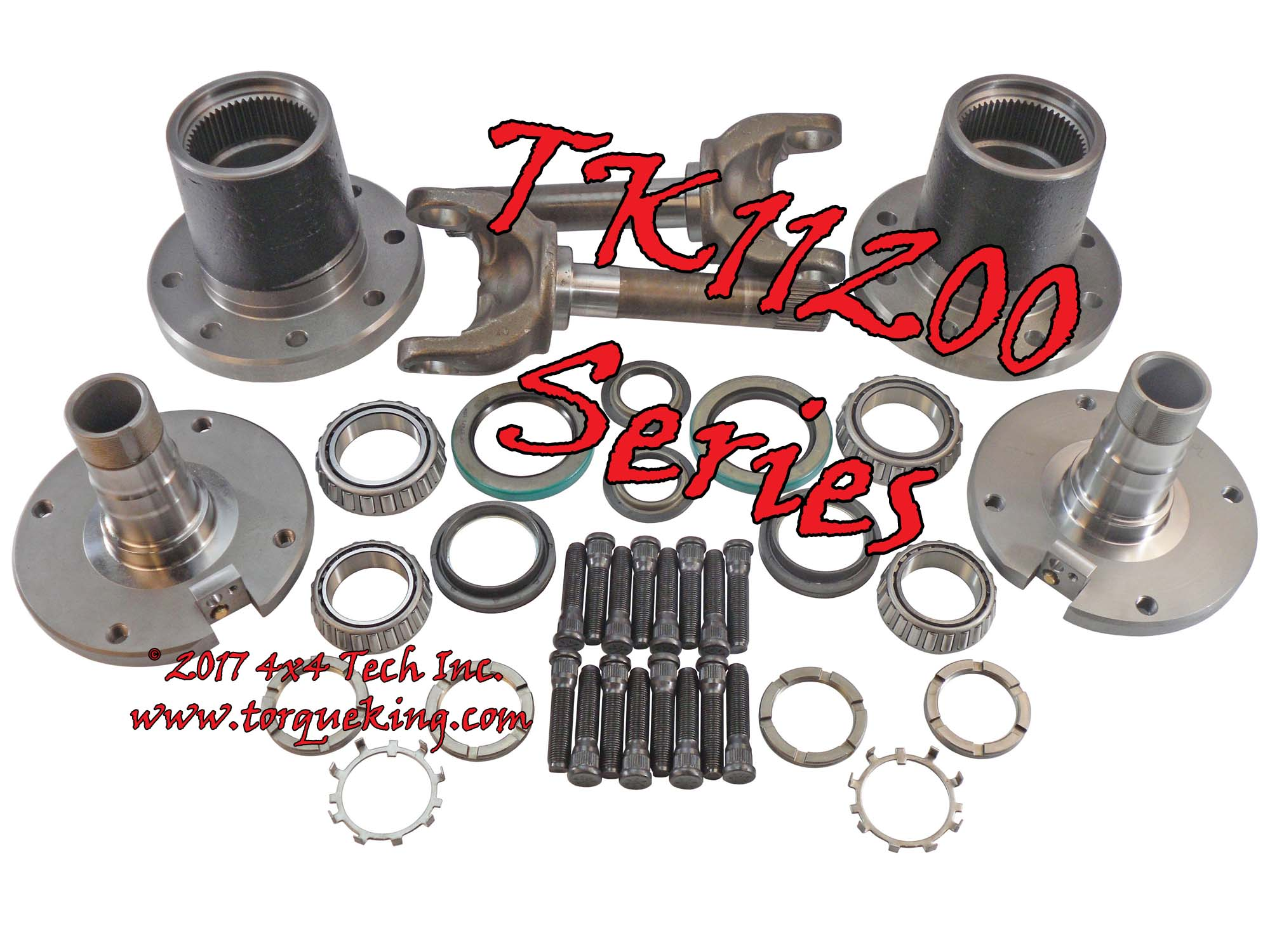 TK11200 Series Dynatrac Free-Spin™ Kits for 1998-1999 Dodge Ram 2500, Ram  3500 Dana 60 Front Axles TK11200 Series Kits include the conversion parts  and your ...