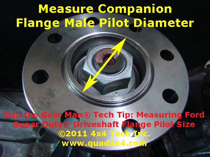 This Flange Yoke Is Typically Used On Vehicles Withsel Or V Gas Engines