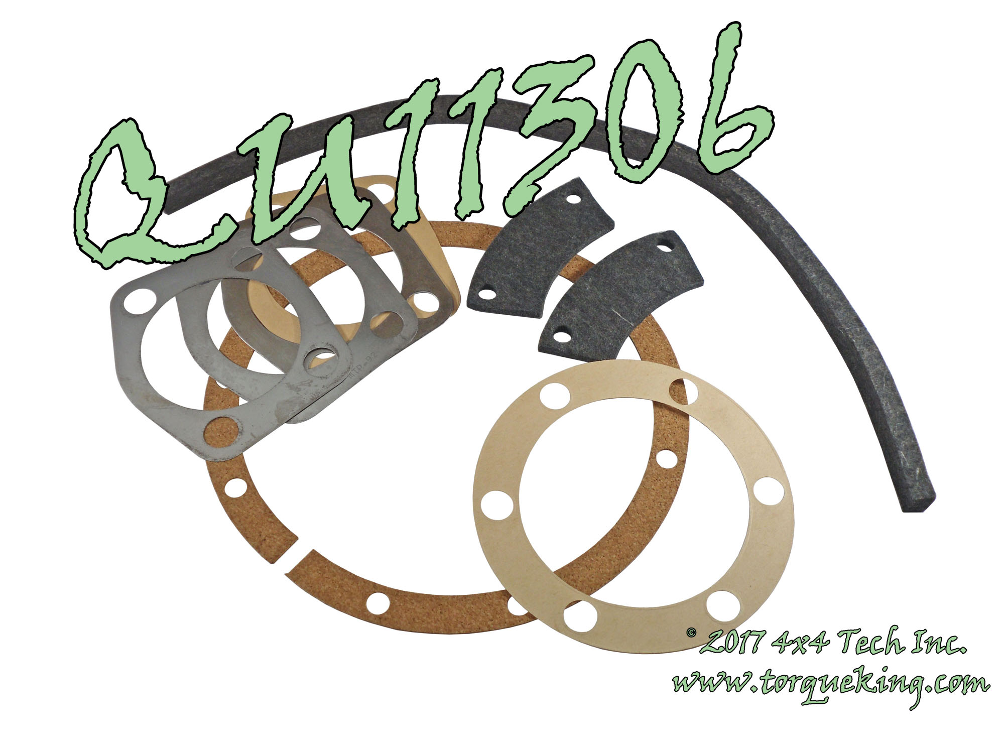 Qu11306 Torque King 4x4 Dodge Power Wagon Front Axle Steering Knuckle Seal Gasket And Shim Kit For 1 Side Of 1946 1978 Civilian Ton Including Export Models