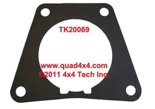 tk20069 np435, np445 main case to rear housing gasket fits between the main  transmission case and the rear output extension housing for 1972-1991 dodge  and