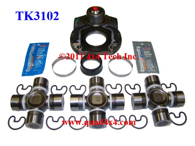 Tk  Spicer Type Premium Master Overhaul Kit For The Spicer Double Cardan Front Cv Driveshaft With Type B Slip Joint On Your Ford Excursion Or